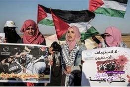 تصویر از فیلم | اعتراض فلسطینیها به کشتهشدن یک روزنامهنگار