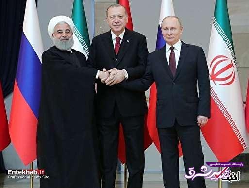 تصویر از پیام اردوغان به ترامپ با استقبال از روحانی و پوتین / خروج آمریکا از سوریه برای ایران و روسیه چه معنایی دارد؟