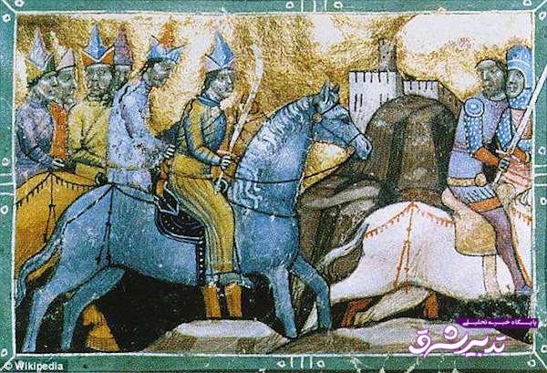 سربازان چنگیز خان مغول