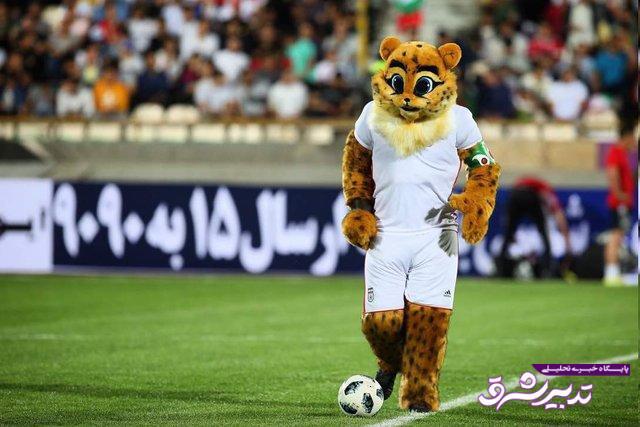تصویر از رونمایی از نماد فوتبال ایران/ «یوپا»؛ یوزپلنگی تیزپا