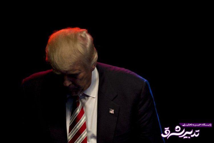 تصویر از ترامپ: رشد بودجه نظامی ایران، دروغ بودن برجام را نشان میدهد