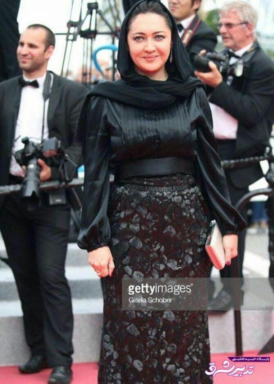 تصویر از تصویر/ نیکی کریمی روی فرش قرمز جشنواره فیلم کن