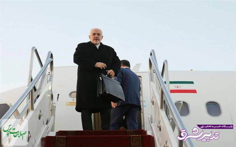 تصویر از ظریف وارد بروکسل شد