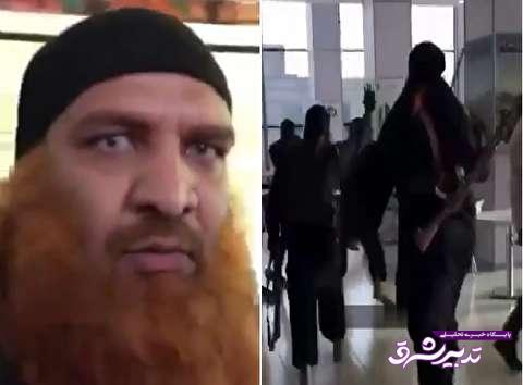 تصویر از فیلم/ حمله نمایشی بازیگران داعشی «به وقت شام» به یک پاساژ/ ترس و واکنش شدید مردم به این اقدام تبلیغاتی