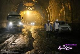 تصویر از قطعه اول آزادراه تهران-شمال مهرماه زیر بار ترافیک می رود