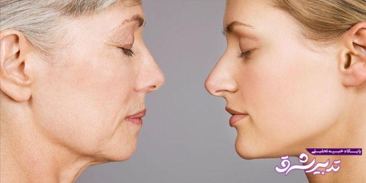 کدام بخش های بدن زودتر پیر می شوند