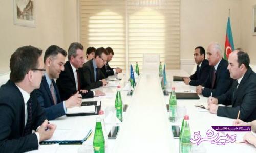 تصویر از اروپا ۱۵میلیارد دلار در باکو سرمایه گذاری کرده هست