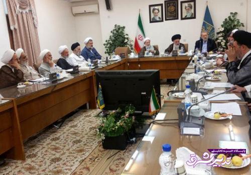 تصویر از جزئیات جلسه لاریجانی با اعضای جامعه مدرسین
