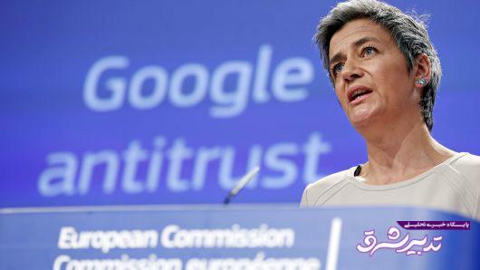 تصویر از جریمه ۵ میلیارد دلاری گوگل در اروپا به خاطر سلطه جویی بر بازار اندروید