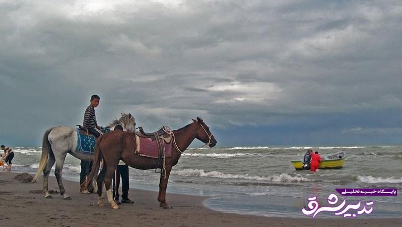 تصویر از چاف و چمخاله لنگرود، ساحلی بی نظیر در استان گیلان
