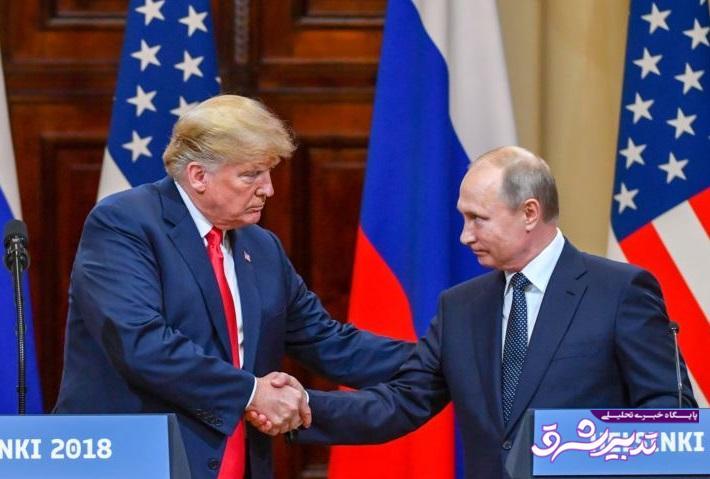 تصویر از پوتین: من در انتخابات دوست داشتم ترامپ پیروز شود / شرایط همکاری موثر در سوریه فراهم است