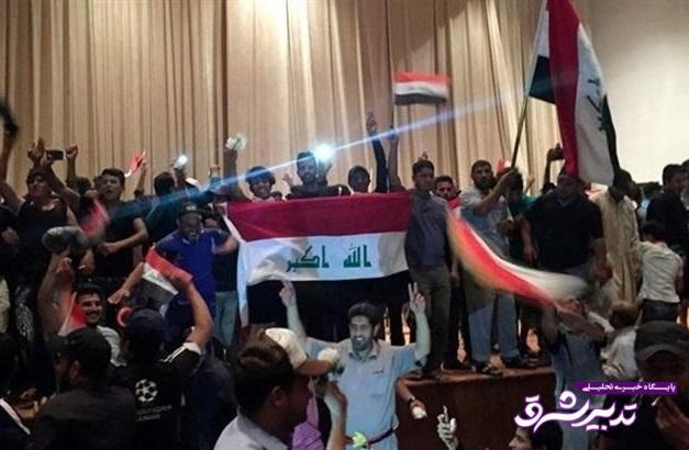 تصویر از ادعای روزنامه نزدیک به سعودی: ناآرامی های عراق کار تهران است / هدف، نجات صادرات نفت ایران است