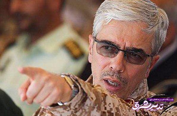 تصویر از مراکز استقرار آمریکا در دسترس قدرت دفاعی ایران است / با دُم شیر بازی نکنید؛ در غیر این صورت با پاسخ غیرقابلتصور، پشیمان کننده و در سطح بسیار وسیع در منطقه و جهان مواجه خواهید شد