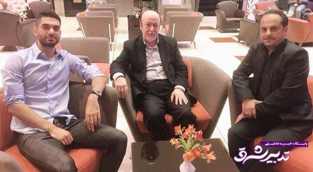تصویر از نوروزی: به افتخاری گفته بودم که علی کریمی مصدومیت دیسک کمر دارد