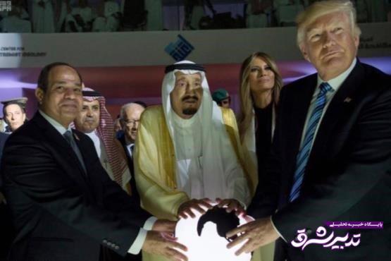 """تصویر از """"ناتوی عربی""""؛ ایده جدید ترامپ برای تامین امنیت اسرائیل و دوشیدن اعراب"""