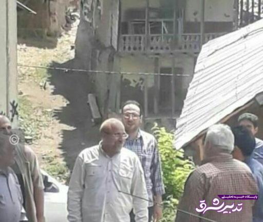 تصویر از سفر تفریحی قالیباف به رودبار/ راه ریاست جمهوری از گیلان می گذرد؟