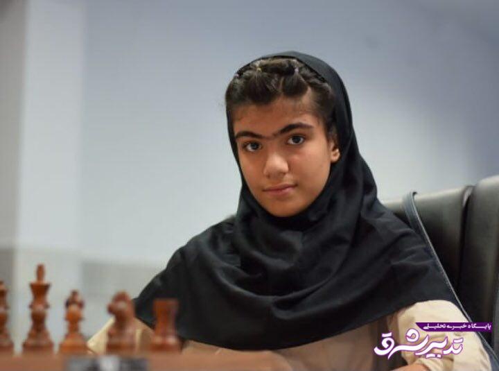 تصویر از قهرمانی مقتدرانه استان گیلان در جشنواره سراسری شطرنج بانوان کشور / پروا بهزاد نظیف ۱۴ ساله قهرمان کشور شد