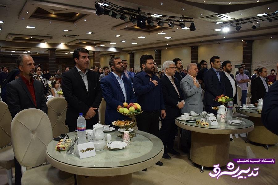 تصویر از گزارش تصویری مراسم تجلیل روز خبرنگار توسط شورای شهر رشت و شهرداری