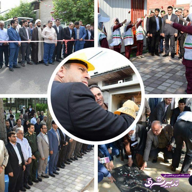 تصویر از گزارش تصویری افتتاح پروژه های عمرانی خشکبیجار در سومین روز از هفته دولت
