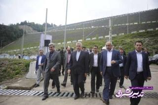 تصویر از به منظور افتتاح و بازدید از پروژه های صنعت آب و برق وزیر نیرو وارد استان گیلان شد