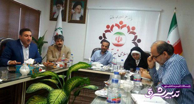 تصویر از شهردار آستانه اشرفیه استیضاح شد/ انتخاب فوری شهردار جدید