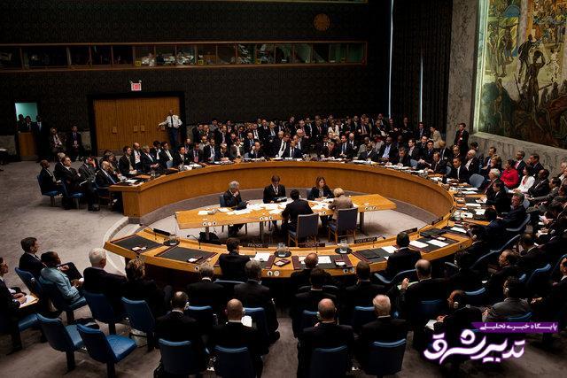 تصویر از جلسه شورای امنیت برای بررسی اوضاع ادلب