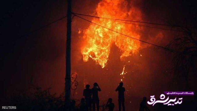 تصویر از آخرین اخبار از حمله به کنسولگری ایران در بصره + واکنشها