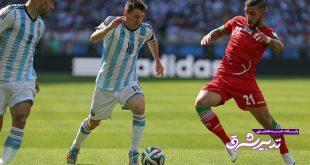 بازی با آرژانتین