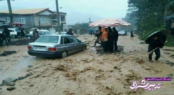 تصویر از دستور جهانگیری به استانداران گیلان و مازندران برای رسیدگی فوری به سیلزدگان