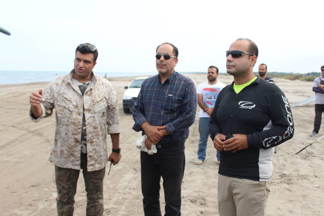 تصویر از سایت ورزش های هوایی بندرکیاشهر راه اندازی شد