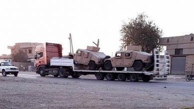 تصویر از آناتولی: ۱۰۰ کامیون حامل تجهیزات نظامی آمریکا سوریه را ترک کردند