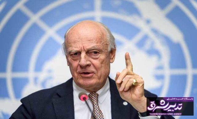 نماینده سازمان ملل خروج آمریکا از سوریه