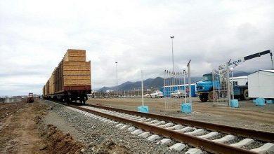 تصویر از بیش از ۸۹ هزار تن کالا از راه آهن آستارا صادر شد