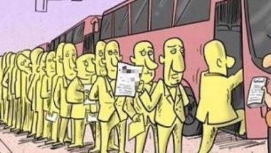"""تصویر از بی انصافی نشود؛ """"ترمز"""" اتوبوس کشیده شد"""