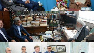 تصویر از دیدار نوروزی استاندار گیلان با نماینده ولی فقیه در گیلان و برخی از علمای برجسته