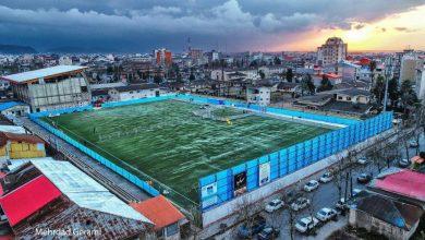 تصویر از طی سفر به گیلان؛ روحانی در کدام ورزشگاه سخنرانی می کند+تصاویر
