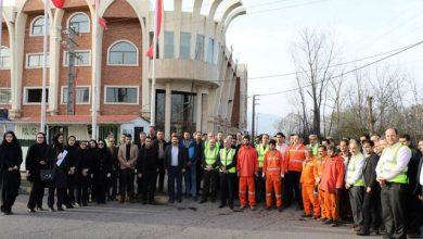 تصویر از با حضور شهردار و فرماندار لاهیجان انجام شد؛ پاکسازی معابر شهر لاهیجان در آستانه نوروز