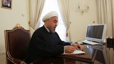تصویر از روحانی قانون اقدام متقابل در برابر «تروریست»خواندن سپاه توسط آمریکا را ابلاغ کرد