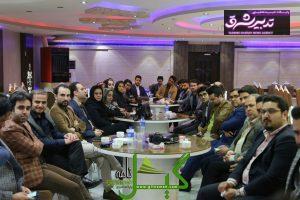 تصویر از دیدار جمعی از جوانان اصلاح طلب و اعتدالی استان گیلان با دکتر حسنی