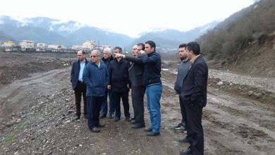 تصویر از بازدید مدیرعامل شرکت سهامی آب منطقه ای گیلان از پروژه های فعال شهرستان تالش