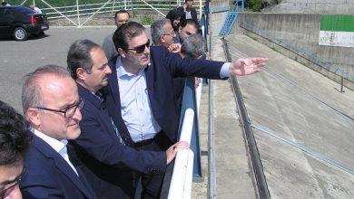 تصویر از بازدید رئیس سازمان مدیریت و برنامه ریزی استان از سد مخزنی آیت اله بهجت(شهر بیجار)