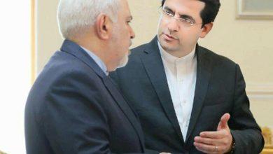 تصویر از سید عباس موسوی سخنگوی وزارت خارجه شد