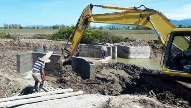 تصویر از افتتاح بند انحرافی و دریچه سازی در نهر آب بر کیاجوب شهرستان سیاهکل