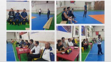 تصویر از آغاز دومین دوره جام بزرگ والیبال شهرستان لاهیجان