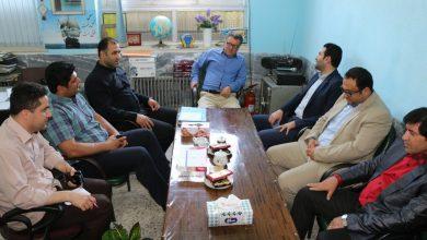 تصویر از گزارش تصویری دیدار شهردار و اعضای شورای شهر چاف و چمخاله با معلمین مدارش سطح شهر