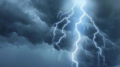 تصویر از صاعقه در گیلان؛ یک فوتی و ۳ مصدوم