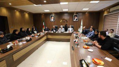 تصویر از به مناسبت روز شوراها؛ حضور رییس شورای شهر رشت در جمع روسای شوراهای دانش آموزی شهرستان رشت