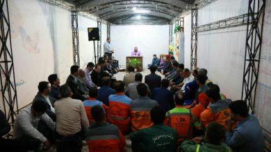 تصویر از مراسم تجلیل از کارگران نمونه شهرداری رشت برگزار شد