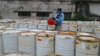 تصویر از اجرای عملیات جمعآوری و امحای پسماندهای ویژه و صنعتی در شرکت گاز گیلان