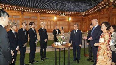 تصویر از کرهجنوبی با استیک از ترامپ پذیرایی کرد